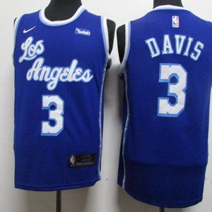 NEW Los Angeles Lakers Anthony Davis Jersey 3 NBA